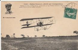 BIPLAN  SOMMER   Piloté Par Lindpaintner - Matériel