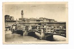 FIRENZE - PONTE VECCHIO  VIAGGIATA   FP - Firenze