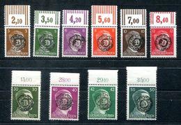 6457- LOKALAUSGABEN LÖBAU - Aus Mi.Nr. 4-19 - Postfrische Oberrandstücke - Nicht Geprüft - Deutschland