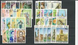 TOGO  8 Séries Différentes Oblitérées VOIR DÉTAIL (39) O Cote 14,10$ 1978-80 - Togo (1960-...)