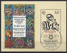 Germany (DDR) 1983  Martin Luther (o) Mi.2833 (block 73) - DDR