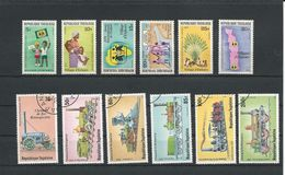 TOGO Scott 1023-1028, 1033-1034, C388-C391 Yvert 954-959, 961-962 PA390-PA393 (12) ** Et O Cote 3,15$ - Togo (1960-...)