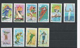 TOGO Scott 1035-37, C392-C394, 1049, C409-C411 Yvert 971-973, PA406-8, 977 PA412-4 (10) O Cote 3,30$ - Togo (1960-...)