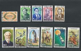 TOGO Scott 1059-1060, C422-C425, 1089-0, C429-1 Yvert 986-7 PA423-6, 993-4 PA431-3 (11) O Cote 3,55$ - Togo (1960-...)