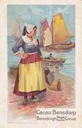 CACAO  --  CHOCOLAT  BENSDORP - Werbepostkarten