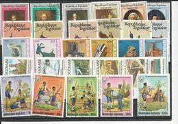 TOGO 5 Séries Différentes Oblitérées (29) O Cote 9,00$ 1981-2 - Togo (1960-...)