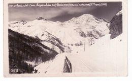 Route De Val D ' Isère à Tignes En Hiver, Aiguille Percée,dôme De La Socche, Mont Pourri - Val D'Isere