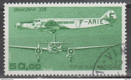 FRANCIA 1987 - AVION TRIMOTEUR DEWOITINE 338 - YVERT PA 60 - USED - Aéreo