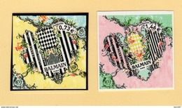 FRANCE 2017 Nouveauté 2 Val Coeur Balmain ADHESIFS MNH ** - Adhesive Stamps
