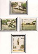 TOGO Scott 1178-1181 Yvert 1096-1097 (4) ** Cote 4,10$ - Togo (1960-...)