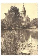 Saint-Séverin / St-Séverin En Condroz - Eglise Romane Du XIIe Siècle - Papier Avec Structure Textile - Nandrin