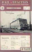 «Une Remarquable Modernisation….LAUSANNE-OUCHY» Article De 9 Pages In « RAIL ET TRACTION » N° 60 – 05-06/1959 - Chemin De Fer