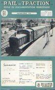 Revue « RAIL ET TRACTION » N° 64 – 01-02/1960 - Chemin De Fer