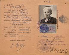Carte D'identité De Francais Sarre Mory Breuches Haute Saone - Documentos Históricos