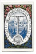 18200 -  Fédération Montagnarde Unioniste Africa America Europa Asia Oceania - Alpinisme