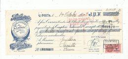 Lettre De Change , 1938, KALMINE ,P. Metadier , Tours  ,frais Fr : 1.45 E - Bills Of Exchange