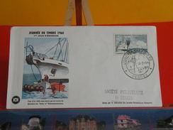 Coté 5€ > Journée Du Timbre 1960 > 12.3.1960 > 35 Rennes > FDC 1er Jour - FDC