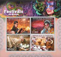 Burundi MNH Festivals Sheetlet And SS - Carnival