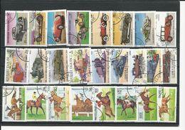 TOGO Scott 1249-56, 1264-72, 1298-1305 Yvert 1153-7 PA524-PA526, 1158-2 PA527-0, 1172-6 PA548-0 (25) O Cote 9,5$ 1984-5 - Togo (1960-...)