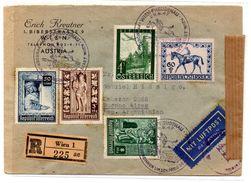 Carta De Austria De 1947. - 1945-.... 2ème République