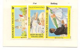 TOGO Scott C518-C520 Yvert PA561-PA563 (3) ** Cote 5,50$ - Togo (1960-...)