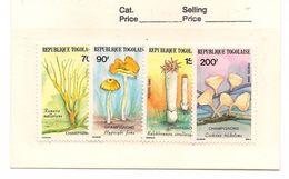 TOGO Scott 1376-1379 Yvert 1196-1199 (4) ** Cote 7,00$ - Togo (1960-...)