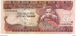Ethiopia P.48f  10 Birr 2015 Unc - Ethiopië