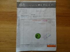 St Etienne Loire Cycles Mercier 8 Eme Salon International Du Jouet1968 - Sports & Tourisme