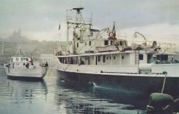"""Transports - Bâteau - Navire Recherches Océanographique """"Calypso"""" Cdt Cousteau - Chalutier De Recherces """"L'Espadon"""" - Pétroliers"""