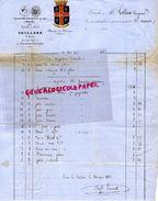 63- CLERMONT FERRAND- RARE FACTURE 1863-GAILLARD-CONFISERIE CONFISEUR- 7 RUE DE L' ECU-EXPOSITION UNIVERSELLE 1855- - France
