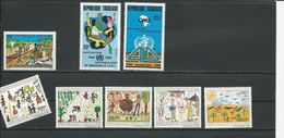 TOGO Scott 1456, 1471-1472, 1478-1482 Yvert 1227, 1232-1233, 1237-1241 (8) ** Cote 5,00$ 1988 - Togo (1960-...)
