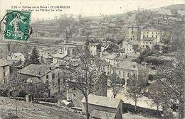 - Puy De Dome -ref-A84- Olliergues - Quartier De L Hotel De Ville - - Olliergues