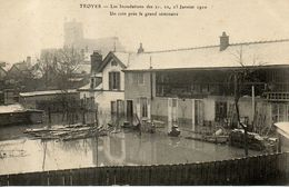 TROYES - Les Inondations De Janvier 2010 - Un Coin Près Le Grand Séminaire - Troyes