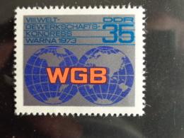 DDR 1973 Y&T N° 1572 ** - CONGRES DES SYNDICATS - [6] République Démocratique