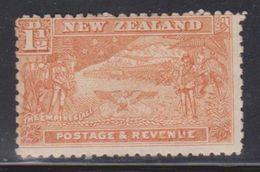 NEW ZEALAND Scott # 101 MHR - Boer War Contingent - Disturbed Gum - 1907-1947 Dominion