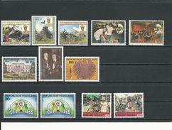 TOGO Scott 1503-5, 1527-8, 1523-5, 1533-4, 1540-1 Yvert 1235A-C, 1270-1, 1261-3, 1265-6, 1274-5 (12) ** Cote 8,50$ 1989 - Togo (1960-...)