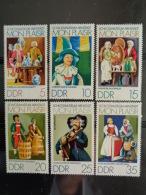 DDR 1974 Y&T N° 1657 à 1662 ** - DOLHOUSE MON PLAISIR - [6] République Démocratique