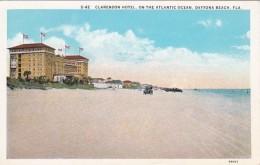 Florida Daytona Beach The Clarendon Hotel On The Atlantic Ocean