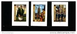 IRELAND/EIRE - 2003  ST. PATRICK'S DAY  SELF-ADHESIVE  SET MINT NH - 1949-... Repubblica D'Irlanda