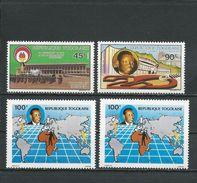 TOGO Scott 1551-1552, 1560-1  Yvert 1280-1281, 1282-1283 (4) ** Cote 2,40$ 1990 - Togo (1960-...)
