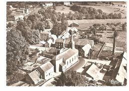 Achet - Le Centre Et L'Eglise - Vue Aérienne - 1970 - Photo Véritable - Hamois