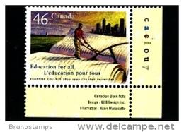 CANADA - 1999  FRONTIER COLLEGE  MINT  NH - 1952-.... Regno Di Elizabeth II