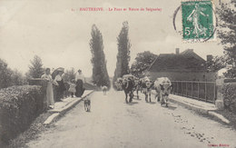 45  °°°°   HAUTERIVE . ROUTE DE SEIGNELEY     °°°°     ///////  REF  NOV.  17 /   BO - France