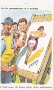 CPSM Sport Jeu Boules Pétanque Pin-up Sexy FANNY Humour Illustrateur P. ORDNER N° 982 - Ordner, P.