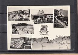 CPSM  De ZARAUZ  Espagne   Multi-vues  Annee 1962  Pour CHAMBERY Savoie Cachet HENDAYE   Num 92 - Espagne