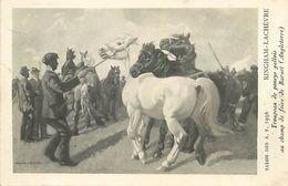 PIE 17. FRP Ar 165 : SALON DE PEINTURE. TROUPEAU DE PONEYS GALLOIS A  BARNET. MADAME KINGHAM-LACHEVRE.1936. - Peintures & Tableaux