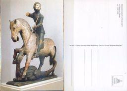 Ak Deutschland - Limburg / Lahn - Diözesanmuseum - Hl. Georg Zu Pferde - Heiligen