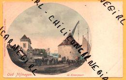 Oud Nijmegen - De Kraanpoort - Grue - Charrette - Chevaux - Animée - H. TEN HOET - Nijmegen