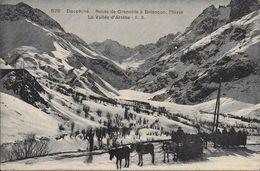 05)  BRIANCON  -  Route De Grenoble à Briançon - La Vallée D' Arsine  (  Attelage  ) - Briancon