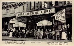 PARIS 5EME - Brasserie LIPP - Brasserie Balzar - District 05